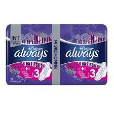 <b>Прокладки</b> женские <b>гигиенические ALWAYS Ultra</b> Platinum Coll ...