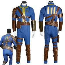 <b>Fallout</b> 4 FO Nate Cosplay Costume Vault #111 Outfit Jumpsuit ...