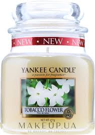 Yankee Candle Tobacco <b>Flower</b> - <b>Свеча</b> в стеклянной банке ...