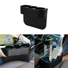 Multifunction Black <b>Car Storage Box Seat</b> Seam Wedge Drink Bottle ...