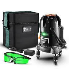 Купить Уровень лазерный самовыравнивающийся <b>DEKO LL57GA</b>