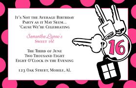 templates for birthday invitations invitations design templates sweet sixteen birthday invitation