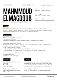 mahmoud el magdoub cv layout v by magdoub on mahmoud el magdoub cv layout v1 by magdoub