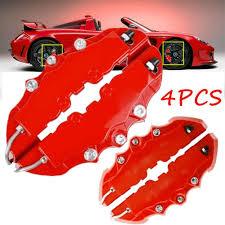 <b>4Pcs</b>/<b>Set 3D Universal</b> Stylish <b>Auto</b> Front Rear Disc Brake Caliper ...