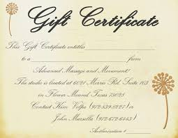 printable gift voucher template printable massage gift certificate template printable gift voucher template dimension n tk