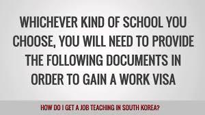 how do i get a job teaching english in korea how do i get a job teaching english in korea
