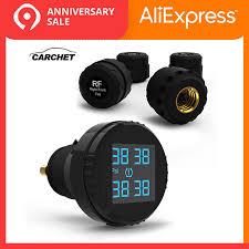 <b>CARCHET Tyre Pressure</b> Monitoring System <b>TPMS</b> LCD Screen 4 ...