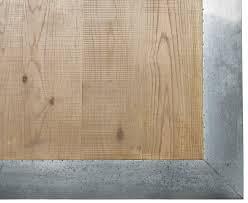 images zinc table top: kitchen zinc table top detail  kitchen zinc oak zinc wooden metal dining table dt