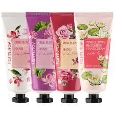 [<b>FARM STAY</b>] <b>Pink Flower Blooming</b> Hand Cream (4types) 100ml ...