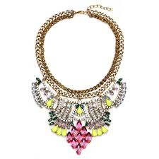 vintage exaggerated necklace clavicle chain clothes accessories fine