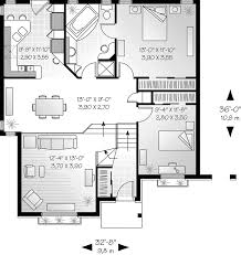Braddock Ranch Style Home Plan D    House Plans and MoreTraditional House Plan First Floor   D    House Plans and More