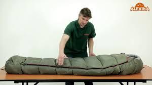 Технологии спальников <b>Alexika</b>, на примере <b>спального мешка</b> ...