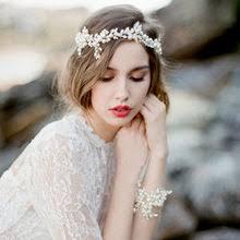 Buy Hairbands Crystal <b>Headbands</b> Women Hair Jewelry Wed online ...