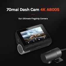 <b>70mai</b> A800S 4K <b>Car DVR</b> Dual Vision GPS ADAS <b>70mai</b> 4K <b>Dash</b> ...