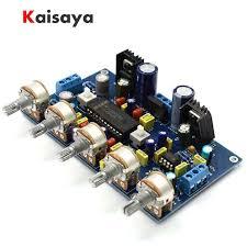 new <b>LM4610</b> + <b>NE5532</b> Preamplifier tone amplifier board for hifi diy ...