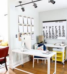 article continues below beautiful home office wall