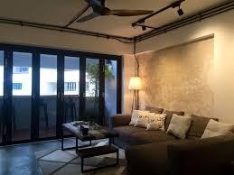 living room taipei woont love: living room hdb maisonette industrial raw