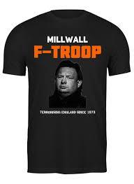 <b>Футболка</b> классическая Millwall <b>F</b>-TROOP Ginger Bob tee ...