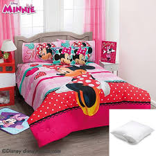 <b>Disney Minnie</b> Amor 5-Pc Comforter Set Twin Bundled with Two ...