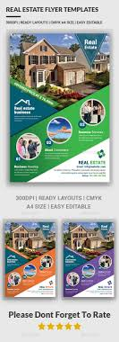 real estate flyer templates by afjamaal graphicriver real estate flyer templates corporate flyers