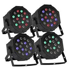 XeeStore 4pcs LED PAR Stage Light 18 X 3W Stage ... - Amazon.com