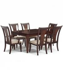 seven piece dining set: metropolitan contemporary  piece dining set dining table  side chairs amp
