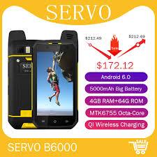 """<b>Original</b> SERVO Smartphone <b>4.7</b>"""" MTK6755 Octa Core ROM 64GB ..."""