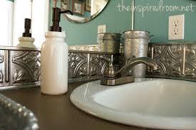 sagging tin ceiling tiles bathroom:  images about bathroom decor on pinterest shelves half baths and benjamin moore