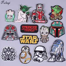 <b>Pulaqi</b> Ninja Turtles <b>Star Wars Patches</b> Sew On Clothes Iron on ...