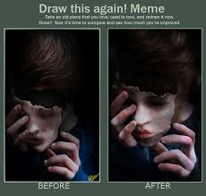DeviantArt: More Like Pale Marionette [Draw This Again Meme] by ... via Relatably.com