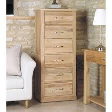 mobel oak tallboy 6 drawer baumhaus mobel oak large 6