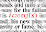 Images & Illustrations of accomplish