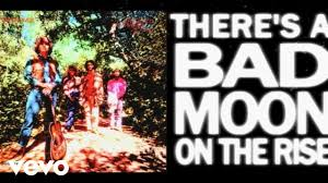 <b>Creedence Clearwater Revival</b> - Bad Moon Rising (Official Lyric ...