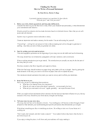 Personal Statement Example For CV     follicure org   example personal statements FAMU Online