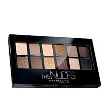 Maybelline Eyeshadow Palette, The Nudes : Beauty - Amazon.com