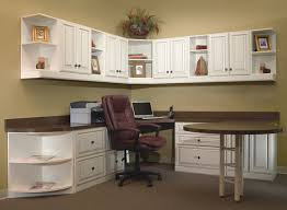 wall storage office home office with extended round table and lots of storage and wall cabinets affordable home office desks