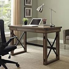 altra wildwood rustic audio pier metal frame bookcase overstockcom shopping the best build rustic office desk