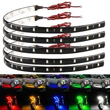 <b>2pcs</b> 30CM Flexible <b>15 LED</b> SMD Waterproof Strips 5050 <b>Bright</b> ...