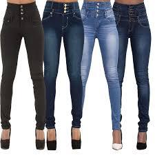 <b>2016 New</b> Arrival Wholesale <b>Woman</b> Denim Pencil Pants Top <b>Brand</b> ...