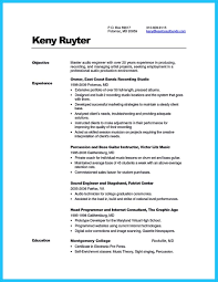 crafting a representative audio engineer resume how to write a audio engineer resume template