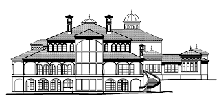 Mansions  amp  More  European Mansion Design   Floor PlansHere is a   square foot European style mansion   bedrooms and baths  The house includes many amenities like a private library  formal living