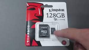 Обзор <b>карты памяти</b> Kingston MicroSD SDXC 10 класс UHS-I ...