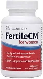<b>FertileCM</b> Supports a Healthy Uterine Lining (<b>90</b> Capsules, One ...