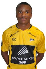 Chidiebere Nwakali, Starts farligste mann. Bilde fra ikstart.no
