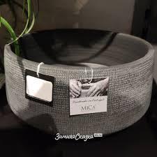 Керамическое кашпо Розарио 28*14 см серое, <b>Edelman</b>