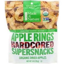 Made in Nature, <b>Органические</b> яблочные кольца, Hardcored ...