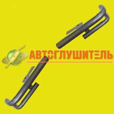 <b>Защита заднего бампера</b> Нива-Шевроле №2 (Двойные <b>уголки</b>)