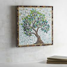 mosaic wall decor: images mosaic tree wall decor   images mosaic tree wall decor