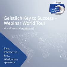 geistlich pharma ag linkedin ag key to success webinarworldtour 2017 six live and interactive webinars world class speakers to share regenerative knowledge