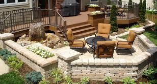 deck patio ideas pavers